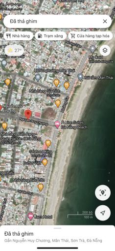 Duy nhất lô đất đẹp đường Nguyễn Huy Chương, cách biển chỉ 50m, giá đầu tư tốt nhất thị trường ảnh 0