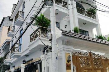 Bán nhà góc 2 mặt tiền hẻm xe hơi 12m đường Hàn Hải Nguyên P9 Quận 11, 5x12m, trệt, 3 lầu nhà đẹp ảnh 0