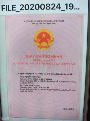 Chính chủ cần bán nhà mặt phố Mễ Trì Hạ, Nam Từ Liêm, Hà Nội ảnh 0