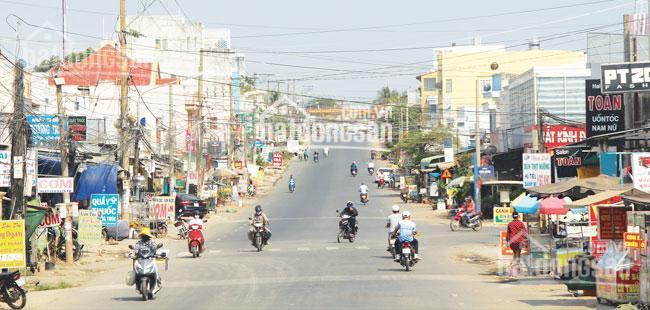 Bán đất mặt tiền chợ Đại Phước, Nhơn Trạch, giá 1.3 tỷ/nền. SHR, khu chợ sầm uất, LH: 0936960132 ảnh 0