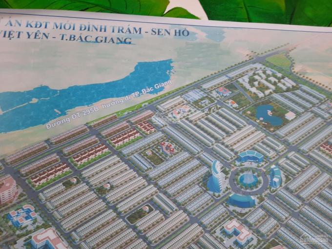 Bán đất (Đã có sổ đỏ) Đình Trám, Sen Hồ. Lô góc mặt đường Quốc lộ 295B và Quốc lộ 37 ảnh 0