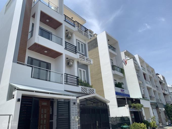 Cho thuê nhà đẹp Trần Lựu, An Phú, hầm 300m2, trệt 3 lầu 4 phòng, giá chỉ 25 triệu/tháng ảnh 0
