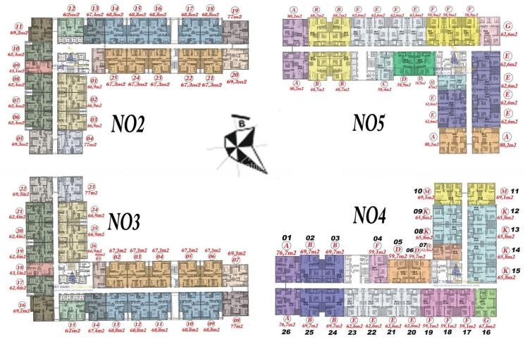 Chính chủ cần bán gấp chung cư Ecohome 3, tầng 1225, DT: 69,7m2, giá 1,4 tỷ. LH: 0981.300.655 ảnh 0