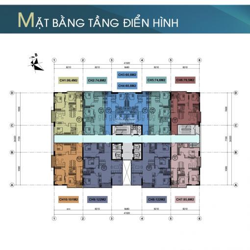 Bán căn hộ chung cư 304 Hồ Tùng Mậu, DT 107m2, căn góc, 3 phòng ngủ, giá 2,4 tỷ ảnh 0