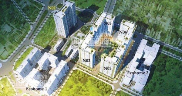 Chính chủ cần bán chung cư Ecohome 3, căn 1218 diện tích 68.8m2, giá 1tỷ420. LH 0966348068 ảnh 0