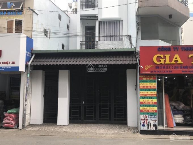 Cho thuê MT Phạm Phú Thứ vị trí siêu đẹp giá 30tr/tháng. DT: 4,5x27m trệt 3 lầu nhà mới và rộng ảnh 0