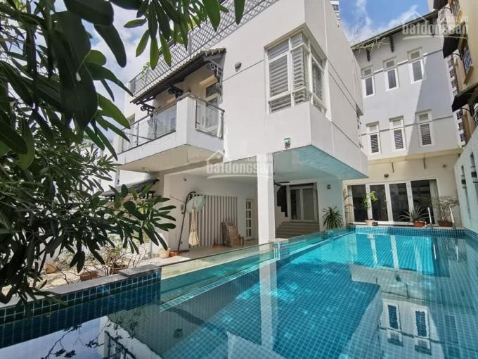 Cho thuê villa Thảo Điền, 300m2, 1 trệt 2 lầu 4 phòng có sân vườn hồ bơi ảnh 0