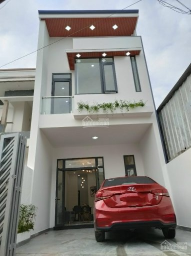 Giảm mạnh nhà mới 100% 1 trệt 1 lầu mặt tiền hẻm 40, Huỳnh Văn Nghệ, Phú Lợi DT 4,6*16m thổ cư 60m2 ảnh 0