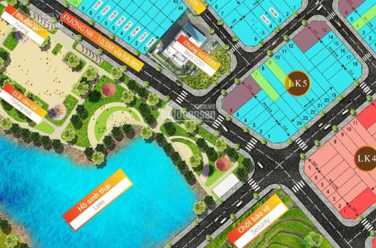 Bán lô LK5-7 đường N10 dự án Buôn Hồ Central Park, 143m2 đối diện chung cư, gần hồ sinh thái ảnh 0