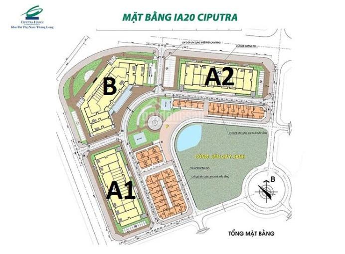 Cần tiền bán gấp 2 căn A2 - 1813(108m2) & B - 1816(92m2) dự án IA20 Ciputra 20tr/m2. O983 292 695 ảnh 0