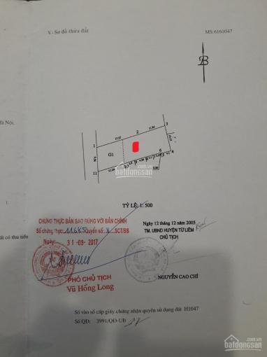 Bán đất sát mặt phố Phạm Văn đồng, 287m2, MT 9.5m, nở hậu, sổ đỏ mới. Giá 108 tr/m2 0982445558 ảnh 0