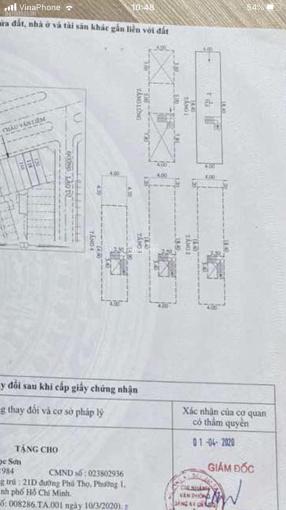 Mặt tiền Châu Văn Liêm, ngay Hồng bàng 4x20m, nhà 4 lầu ảnh 0