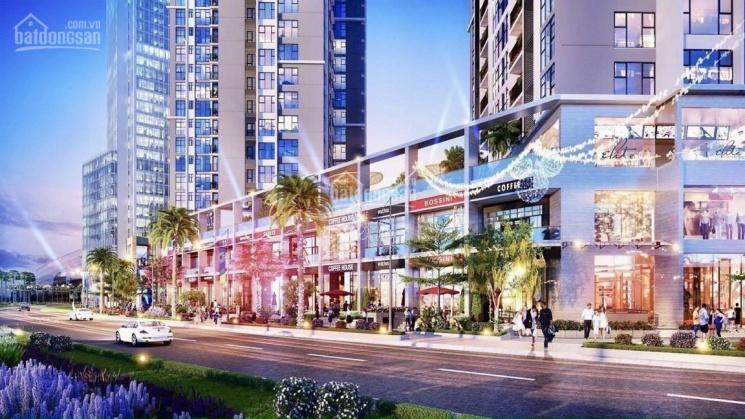 Bán căn trệt thương mại khối đế chung cư (shophouse) mặt tiền đường lớn 2 tầng 134m2 6,2 tỷ