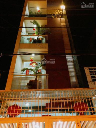 Cho thuê nhà mặt tiền đường Lê Bôi, quận 8, nhà 1 trệt 3 lầu, full nội thất, giá 28tr/th ảnh 0