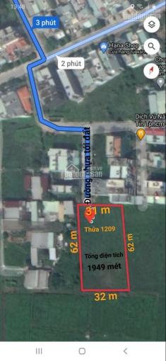Cần bán lô đất lúa sát ngay bên khu dân cư Đại Hải Hóc Môn, có đường nhựa tới đất ảnh 0