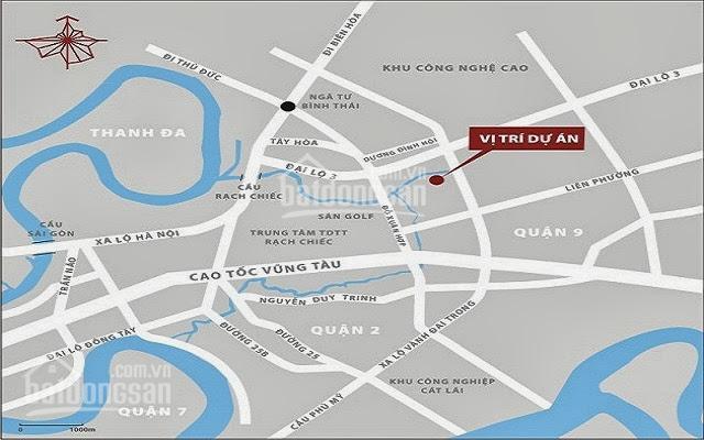 Bán đất KDC Nam Long, Quận 9, đường Đỗ Xuân Hợp, sổ hồng DT 240 m2 ảnh 0
