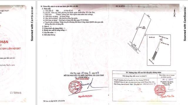 Cần bán đất đg Nguyễn Văn Cừ, An Bình, Ninh Kiều, DT 1.500m2, giá 2.5 tỷ. LH 0937.81.92.99 Ms Hương ảnh 0