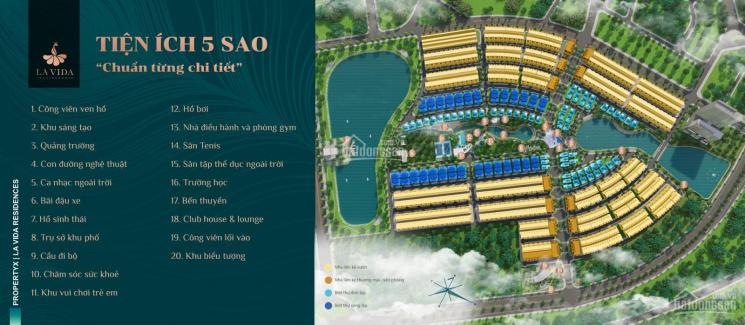 Bán khu nhà phố biệt thự Lavida TP Vũng Tàu, compound đầu tiên sổ hồng lâu dài pháp lý chuẩn ảnh 0