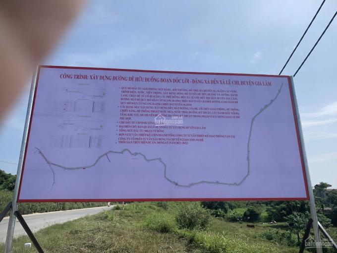 Bán cơ hội - Lô đất đầu tư tại Kim Sơn, Gia Lâm  đất TCLN 180m2 lô góc MT 14m - giá chỉ 8tr/m2 ảnh 0