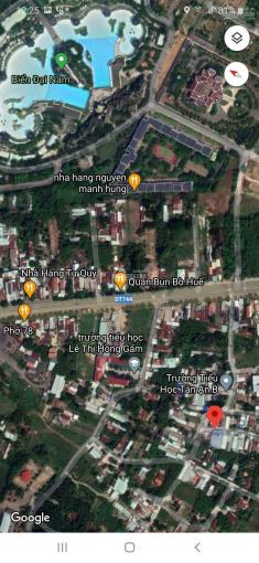 Bán lô đất tặng luôn nhà cấp 4 DT 6,3x30m thổ cư 115m2, kề bên trường tiểu học Tân An B ảnh 0