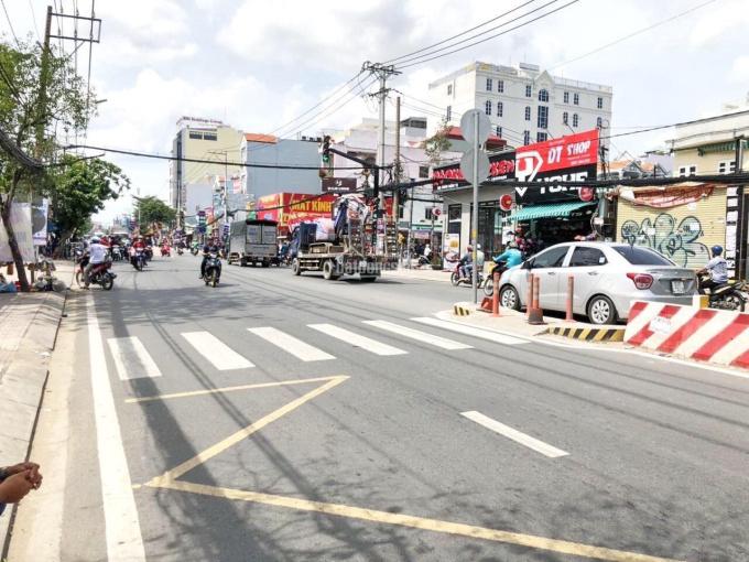 Kẹt tiền bán gấp nhà MT Huỳnh Tấn Phát, Q7. DT 6x38m (222m2), SHR, GPXD hầm 7 lầu, giá 113 tr/m2 ảnh 0