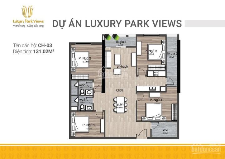 Bán căn hộ 4PN view trực tiếp công viên Cầu Giấy. Nhận nhà ở ngay, chiết khấu 500 triệu ảnh 0
