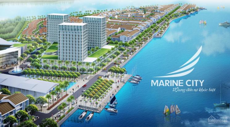 Kẹt tiền bán gấp nền 100m2 tại Marine City Vũng Tàu, giá cực kỳ tốt. Vị trí đẹp không cột cống ảnh 0