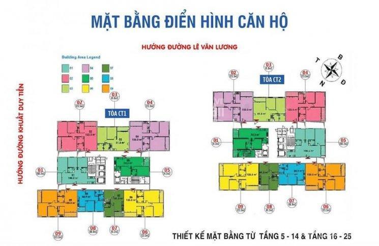 Cần bán CHCC CT2 1609 (124.63m2) 3PN - giá 27,5 tr/m² tại Ban Cơ Yếu Chính Phủ - LH: 0866 638 599 ảnh 0