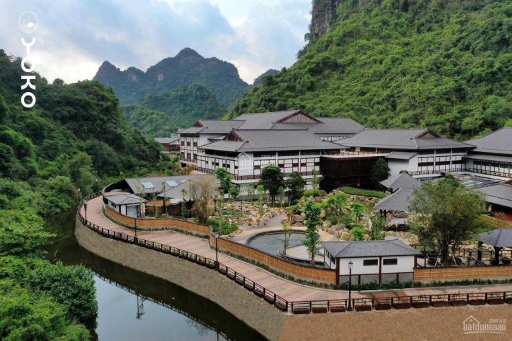 Căn biệt thự đơn lập 2 bể tắm khoáng - sục, view trọn núi rừng siêu VIP, Yoko Onsen Quang Hanh ảnh 0