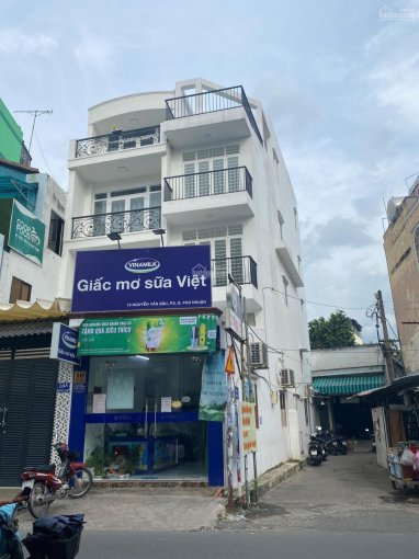 Nhà 2 mặt tiền lại nở hậu 3,5x19,5m nở hậu ra 4,2m Nguyễn Văn Đậu. Giá 23 tỷ TL ảnh 0
