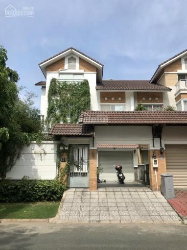 Cho thuê biệt thự nguyên căn mới khu Nam Phú, Q7, (58tr giá thuê) ảnh 0