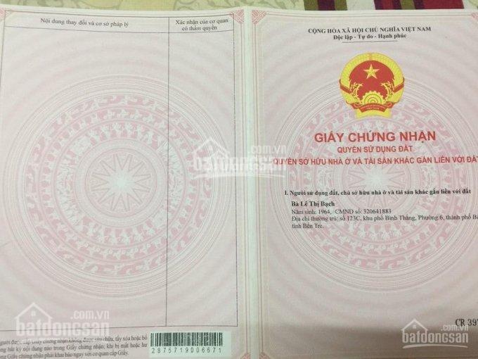 Chính chủ cần bán nhanh đất nông nghiệp, bao quy hoạch tại Phú Tân, thành phố Bến Tre ảnh 0