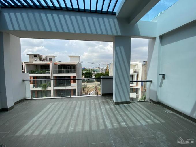 Cho thuê nhà ở kết hợp văn phòng 6x17m, hầm + 4 lầu, full nội thất có thang máy Vạn Phúc 27 tr/th ảnh 0