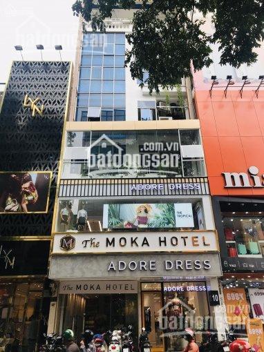 Bán nhà mặt tiền Trần Quý Khoách, Quận 1. DT 8m x 13.5m, hầm, 4 lầu (cho thuê 90 tr/th) giá 36 tỷ ảnh 0