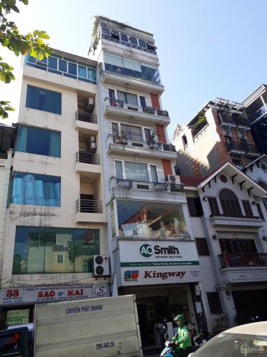Bán nhà mặt phố Nguyễn Thái Học, 55m2 x 7 tầng, mặt tiền 5.3m, giá bán 22,5 tỷ ảnh 0