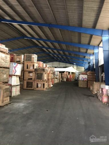 Cho thuê kho xưởng mặt tiền quốc lộ 1A Bình Tân diện tích 5500m2 giá thuê 80nghìn/m2/tháng ảnh 0