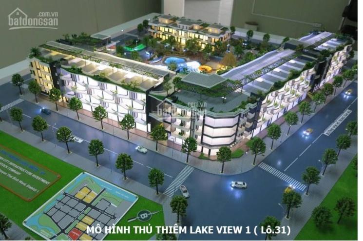 Bán nhà phố Thủ Thiêm Lakeview CII gần cầu Thủ Thiêm 1, đường 30m cách đường ven hồ 50m ảnh 0