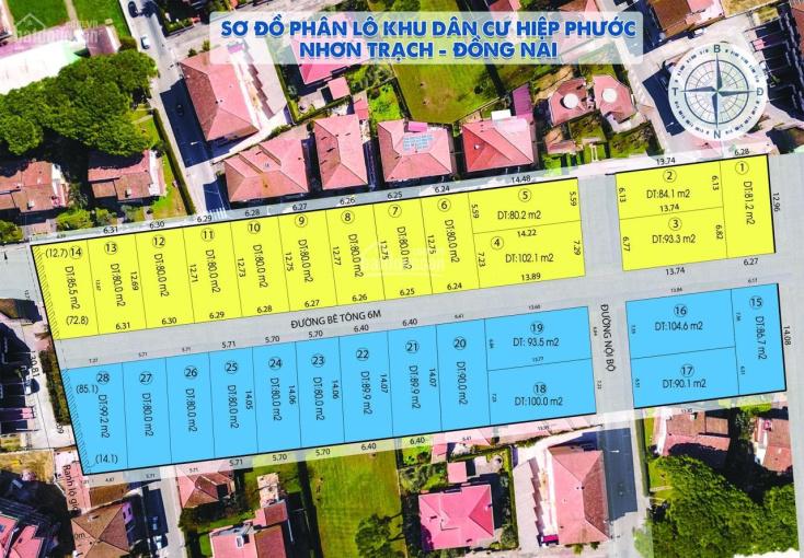Bán đất nền thị trấn Hiệp Phước, huyện Nhơn Trạch ảnh 0