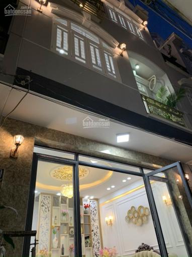 Bán nhà mới đẹp 3 tầng 5x10m, tặng hết nội thất mới 100%, giá 4.5 tỷ, đường Huỳnh Tấn Phát, Quận 7 ảnh 0