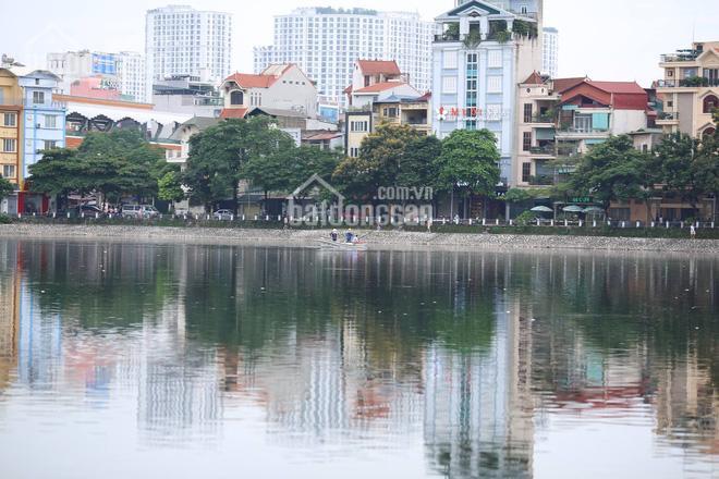 Cần tiền hạ chào gấp! 156tr/m2 bán nhà đất mặt phố Đống Đa - mặt hồ Hoàng Cầu mặt tiền 5.2m ảnh 0