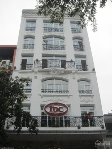 Cho thuê nhà MP Xã Đàn 390m2 x 9 tầng, mặt tiền 10m. Nhà thông sàn, 2 thang máy to ảnh 0