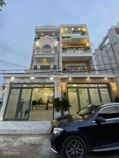 Bán biệt thự đẹp, sang trọng 4 tầng 5x20m, mặt tiền đường 8m Huỳnh Tấn Phát, Nhà Bè, giá 6.85 tỷ ảnh 0
