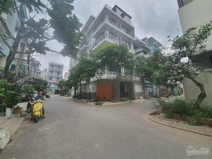 Bán căn hộ dịch vụ đường Lê Văn Thọ, Quận Gò Vấp DT: 11x16m, góc 2 mặt tiền đường 8m thông, 20 tỷ ảnh 0