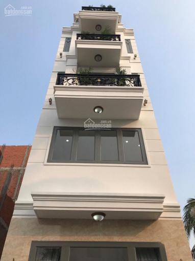 Nhà 4 tầng 4x17m cuối đường Nguyễn Oanh có thang máy, sổ có sẵn, đường xe hơi ảnh 0