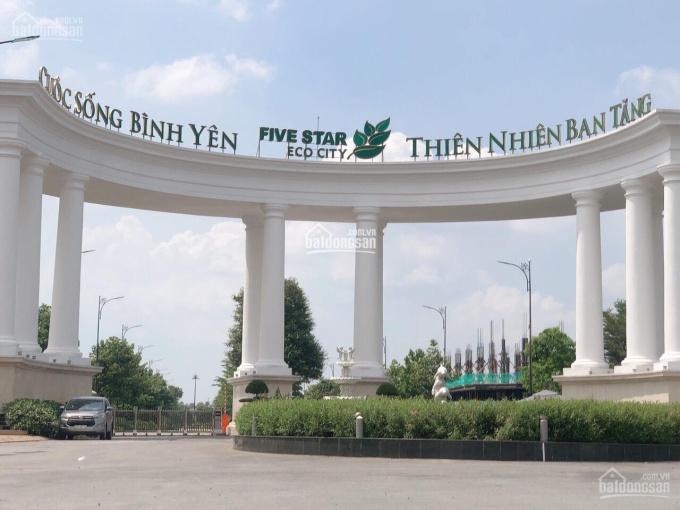 Cần bán lô đất trong KDC Five Star Eco City, SHR, đường Đinh Đức Thiện, giá 18tr/m2. LH 0777938582 ảnh 0