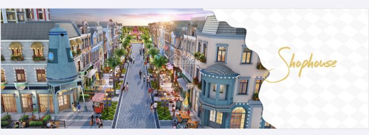 Duy nhất 4 căn shophouse Wonderland cam kết 5 năm thuê 60 tr/th siêu TP du lịch biển 0908113111 ảnh 0