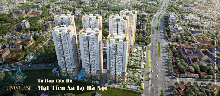 Mở bán đợt 1 căn hộ Biên Hòa Universe Complex TP Biên Hòa giá chỉ 1.99 tỷ/2PN 68m2 trả góp 0% 36th ảnh 0