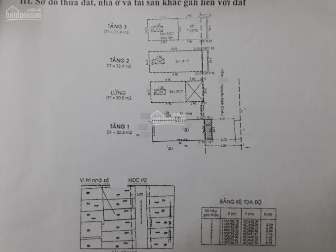 Bán nhà hẻm 575 Nguyễn Đình Chiểu, Phường 2, Quận 3 dt 3,5 x 10m, 3 lầu, bán 7,3 tỷ ảnh 0