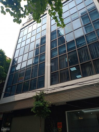 Cho thuê nhà MP Lạc Long Quân 110m2 x 8T thang máy, thông sàn ảnh 0