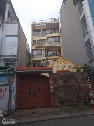 Cho thuê nguyên căn mặt phố Nguyễn Đình Hoàn Nghĩa Đô thang máy kinh doanh giá 65 triệu/tháng ảnh 0